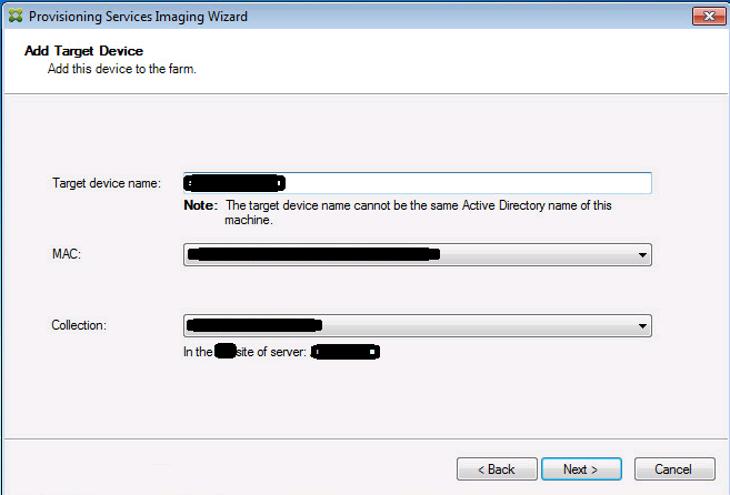 Series: Convert PVS images from XenServer to VMware